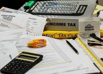 מדרגות המס להכנסה מיגיעה אישית לשנת 2018